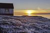 Aspérités_3833 (RiendH2O) Tags: îleverte coucherdesoleil sunser glace ice hiver winter fleuvestlaurent stlawrenceriver