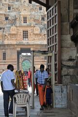 Sri Brihadeswara 2 (wfung99_2000) Tags: tanjore chola hindu shiva temple unesco tamilnadu sri metal dectector security dravidian architecture india brihadisvara