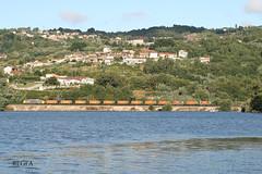 Barra do Miño (REGFA251013) Tags: 5119 tren train comboio mercancias bobinas vigo galicia barradomiño