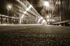 FutureStation Film (ezguy1) Tags: d3200 nikon bw noir transportation lirr train ny longisland li new york mta oakdale film digital