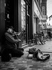 street sounds (Lackermeier Photography) Tags: blackwhite copenhagen street streetphotography violine