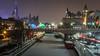 Rideau Canal : December 22, 2017 (jpeltzer) Tags: ottawa night christmaslights parliament parliamenthill peacetower rideaucanal nac shawcentre