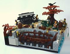 Medieval Shipyard (Guido Martin-Brandis) Tags: castle lego ship yard minifigure