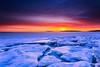 Mayo  Beach Wellfleet Massachusetts (Dapixara) Tags: beauty travel light beautiful nature sunsets today weather icechunks capecodicebergs icbergs extraordinary winter sunset wellfleet harbor dapixara photography capecod massachusetts usa