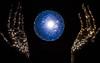 Constellation on my hands (Jazmin Teng) Tags: star stars constellation blue 35mm beautiful resistencia argentina pretty shine universe nikon lightroom colour light nikkor chaco shadow hands fantastic fantasy d5300 astro luz galaxy