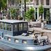 Amsterdam - Bateau sur un canal