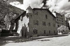 old country country (murtica27) Tags: andorra la vella casa architiktur architecture building city stadt village history medival black white schwarz weis bw sw sony alpha sky monochrome town pyrenees spain france mountains scenery
