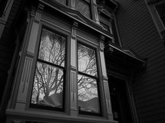san francisco, california (peaceblaster9) Tags: sanfrancisco california window reflections blackandwhite bw bnw ricoh ricohgr2 noedit monochrome street サンフランシスコ カリフォルニア 窓 ストリート リコー 建物 建築 architecture 白黒 モノクローム