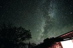 Starry Starry Night (niladree1710) Tags: star starry tree milkyway cottage longexposure night window