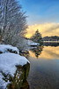 Finally some snow, Norway (Vest der ute) Tags: g7xll g7xm2 norway rogaland haugesund reflections mirror trees tree winter rocks snow outdoor sky clouds water waterscape landscape lake fav25 fav200