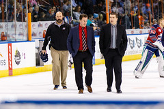 """Kansas City Mavericks vs. Kalamazoo Wings, January 5, 2018, Silverstein Eye Centers Arena, Independence, Missouri.  Photo: © John Howe / Howe Creative Photography, all rights reserved 2018. • <a style=""""font-size:0.8em;"""" href=""""http://www.flickr.com/photos/134016632@N02/38681929205/"""" target=""""_blank"""">View on Flickr</a>"""