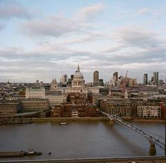 St Pauls (ifleming) Tags: mediumformat saintpauls london tatemodern stpauls kodak kodakektar rolleiflex
