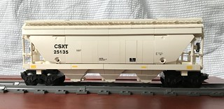 Covered Hopper Rail Car