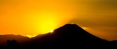 #3 Mt Fuji at sunset (tokyobogue) Tags: tokyo japan mtfuji nikon nikond7100 d7100 dusk sunset orange mountain fuji