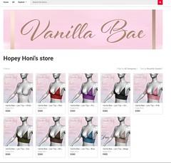 Vanilla Bae @ Sansar (Hopey Honi in SL) Tags: sansar clothing top marvelous designer
