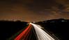 5/365 - State of panic.. (EYeardley) Tags: lighttrails carlighttrails longexposure slowshutter lights road motorway 3652018 365 5thjanuary2018 nightshot nightsky silhouette nightlandscape itscoldoutside