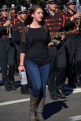 Chaperone (swong95765) Tags: band woman highschool marching nosering female uniforms