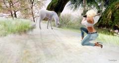 SAP (tantalize andretti) Tags: camera unicorn mystical blonde neve tram essenz