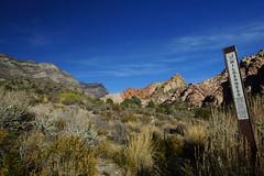Wilderness starts here ... (marc.fray) Tags: redrockcanyon nevada usa us wilderness désertdesmojaves mojavedesert aridrainshadowdesert