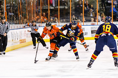 "Kansas City Mavericks vs. Colorado Eagles, December 16, 2017, Silverstein Eye Centers Arena, Independence, Missouri.  Photo: © John Howe / Howe Creative Photography, all rights reserved 2017. • <a style=""font-size:0.8em;"" href=""http://www.flickr.com/photos/134016632@N02/39138099121/"" target=""_blank"">View on Flickr</a>"