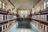 Koviotherapy (GregoireC - www.gregoirec.com) Tags: a7 canon dri ef1124mmf4lusm sony abandoned urbex decayed decay pool public baths swimmingpool