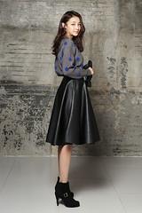 KOREAN GIRL LEATHER (Jarronite Chronique) Tags: korean girl leather asiatique cuir photos