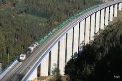 Boedo (REGFA251013) Tags: carbon meirama tren train comboio mercadorias renfe gas natural