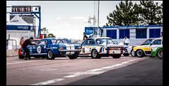 Ford Mustang 289 (1965) - BMW 3,0L CSL (1975) (Laurent DUCHENE) Tags: peterauto dijonprenois 2017 motorsport car grandprixdelagedor heritagetouringcup ford mustang 289 shelby americancar bmw 30l csl germancar