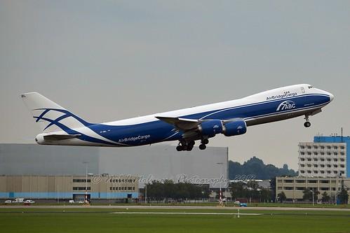 AirBridge Cargo VP-BBL Boeing 747-8F cn/63378-1536 @ Aalsmeerbaan EHAM / AMS 10-09-2017