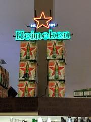 Star of Heineken (earthdog) Tags: 2017 androidapp googlepixel pixel cameraphone moblog word neon light shopping store grocerystore safeway product beer