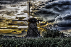 2017 From the Cutting Room Floor-55 (AaronP65 - Thnx for over 11 million views) Tags: kinderdijk netherlands windmill
