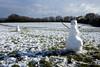 Snowmen in Stoke Park (weirdoldhattie) Tags: bristol lockleaze stokepark snow snowmen winter