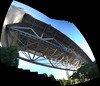 all the way under burrard (n.a.) Tags: twisting panorama stitch pano burrard street bridge vancouver bc canada architecture