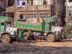 LR Mumbai 2015-226 (hunbille) Tags: birgittemumbai4lr khotachiwadi khotachi wadi portuguese neighbourhood neighborhood heritage village india mumbai bombay truck