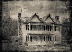 Creamery, WV House_Textured (Bob G. Bell) Tags: abandoned antique house texture creamery wv westvirginia bobbell