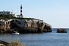 Portocolom Lighthouse (OnTheRoadAgainBlog) Tags: spain mallorca 400d portocolom lighthouse ocean