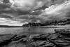 DSC01003 (Damir Govorcin Photography) Tags: camp cove beach watsons bay sydney clouds monochrome blackwhite wide angle natural light sony a7rii zeiss 1635mm rocks