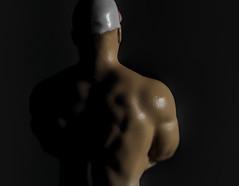 Sidelit  (Macro Mondays) (Millie Cruz*) Tags: macro nanofigure metal diecast scale165 johncena sidelit redux2017myfavoritethemeoftheyear macromondays wrestler toy
