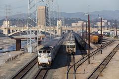 Leaving LA (Ryan J Gaynor) Tags: losangeles california metrolink train commutertrain railroad railfan railway railroading trains transportation passengertrain sunny usa