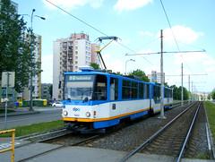 Ostrava tram No. 1502 (johnzebedee) Tags: tram transport publictransport vehicle ostrava czechrepublic johnzebedee tatra