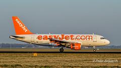 G-EZAS  Airbus A319-100 - easyJet (Peter Beljaards) Tags: