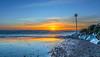 Avon Beach Jan 7 (nicklucas2) Tags: seascape beach needles isleofwight sea seaside solent sun wave avonbeach