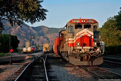 Utah Central Railway (jamesbelmont) Tags: utahcentralrailway ogden transfer utah ge b398 lmx shortline railway
