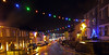 Penryn Lights 1 (Cornishcarolin. Rest in Peace Mum xxx) Tags: cornwall penryn christmaslights evening rain building architecture town streetview street millstone cars christmastree