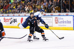 "Kansas City Mavericks vs. Toledo Walleye, January 20, 2018, Silverstein Eye Centers Arena, Independence, Missouri.  Photo: © John Howe / Howe Creative Photography, all rights reserved 2018. • <a style=""font-size:0.8em;"" href=""http://www.flickr.com/photos/134016632@N02/24969300907/"" target=""_blank"">View on Flickr</a>"