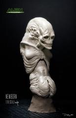 NEWBORN46 (sith_fire30) Tags: alien aliens resurrection newborn ripley clone studiadi sithfire30 dayton allen queen custom action figure sculpture sculpt art aves fixit avesstudio clay