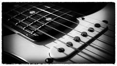 Guitar Hero (Alan McIntosh Photography) Tags: music guitar strings monochrome black white
