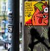 HH-Installations 1994 (cmdpirx) Tags: hamburg germany reclaim your city urban street art streetart artist kuenstler graffiti aerosol spray can paint piece painting drawing colour color farbe spraydose dose marker stift kreide chalk stencil schablone wall wand nikon d7100 installation install cement glue kleber klebstoff tile kachel styrodur styropor vinyl lp cd style guerilla knitting yawn bombing tape inst cutout yarn