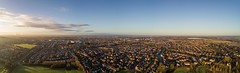 400ft Rainhill, Whiston & Prescot (Steve Samosa Photography) Tags: whiston england unitedkingdom gb aerial aerialview dronecamera droneshot panoramic bluesky urban