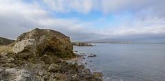 Rugged coastline (Mark240590) Tags: waves coastal coast beach bay cliffs cliff water sea rocks landscape seascape